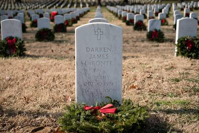 Darren LaBonte was one of seven CIA officers killed during a suicide attack by al Qaeda in Khost province in Afghanistan.