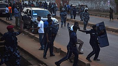 Joint security patrols after supporters of Sierra Leone's APC and SLPP clash