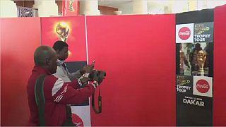 Mondial 2018 : le trophée de la coupe du monde à Dakar