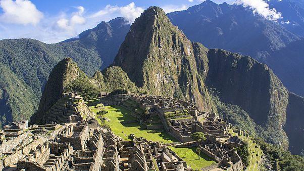 Image: Remains of Machu Picchu in Cusco, Peru.