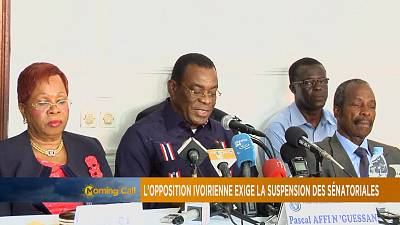 Opposition in Ivory Coast calls for suspension of senatorial elections [The Morning Call]