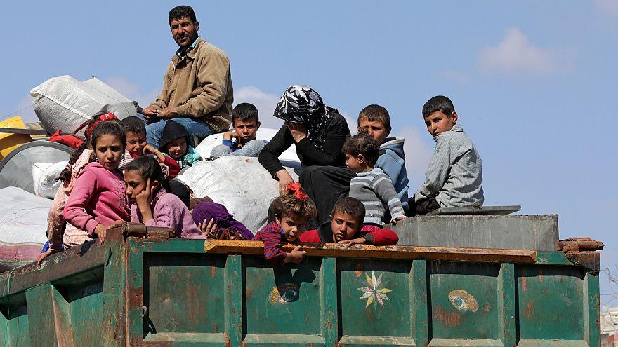 Szíria, a háború nyolcadik évében