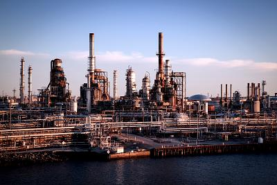 The Philadelphia Energy Solutions oil refinery sits along the Schuylkill River at the southern tip of Philadelphia.
