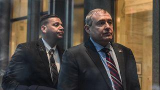 Image: Lev Parnas arrives at Federal Court on Dec. 17, 2019 in New York Cit