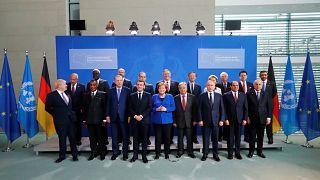 Image: Libya summit in Berlin