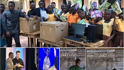 Ghana : pari réussi pour l'enseignant qui apprenait le logiciel Microsoft Word à ses élèves sans ordinateur