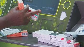 'ATM Pharmacy' gives drugs to HIV/AIDS patients in South Africa