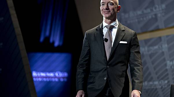 Image: Jeff Bezos, founder and chief executive officer of Amazon.com Inc.,