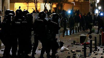 A Madrid, violente répression policière d'une manif de migrants