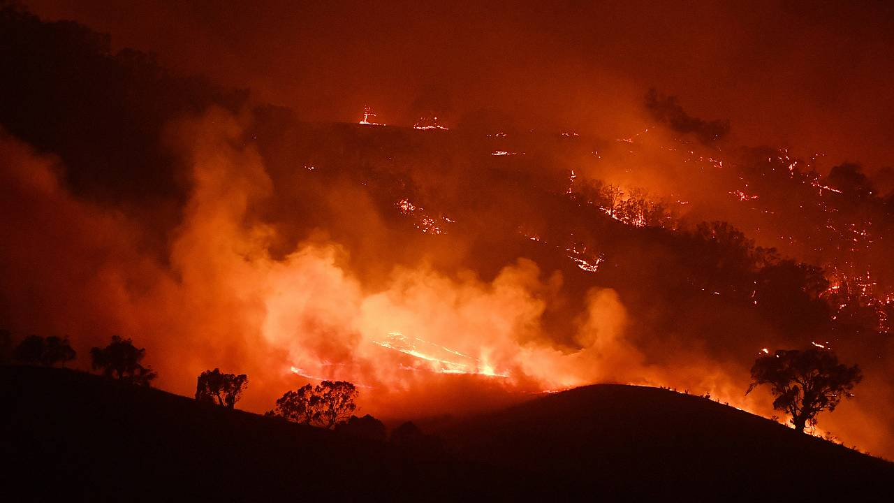 Image: NSW On Severe Bushfire Alert As Weather Conditions Worsen
