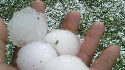 [Photos] Lesotho hailstorm leaves behind injuries and havoc