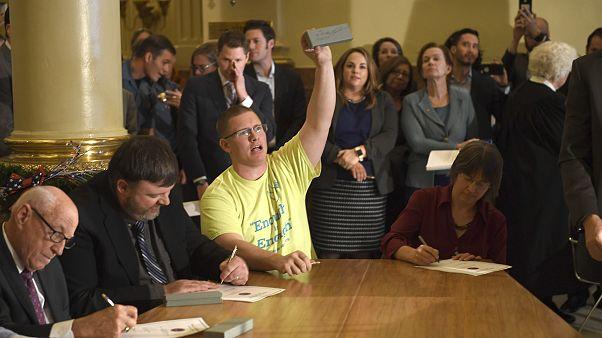 Image: Michael Baca, Electoral College Voting