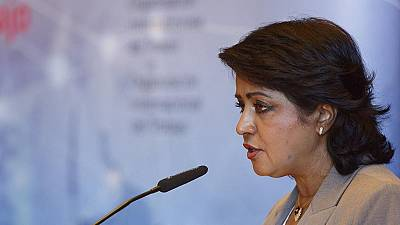 Mauritius president resigns over credit card scandal, denies wrongdoing
