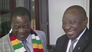 Le président sud-africain Ramaphosa en visite au Zimbabwe