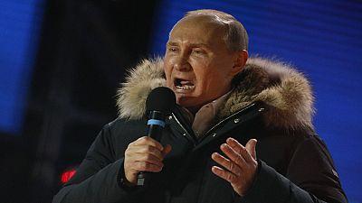 Vladimir Poutine remporte la présidentielle