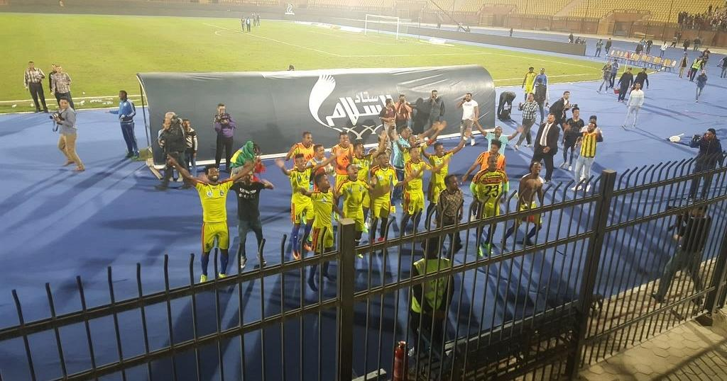 Joy back home as Ethiopian side eliminates Zamalek from CAF Confed. Cup
