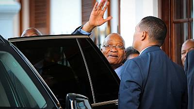 New South African president suspends tax chief
