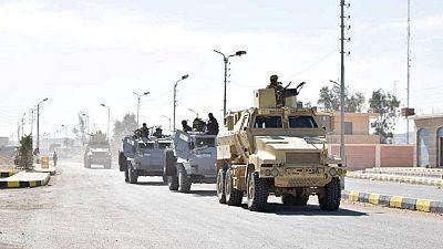 Égypte : 36 jihadistes tués au cours d'opérations dans le Sinaï