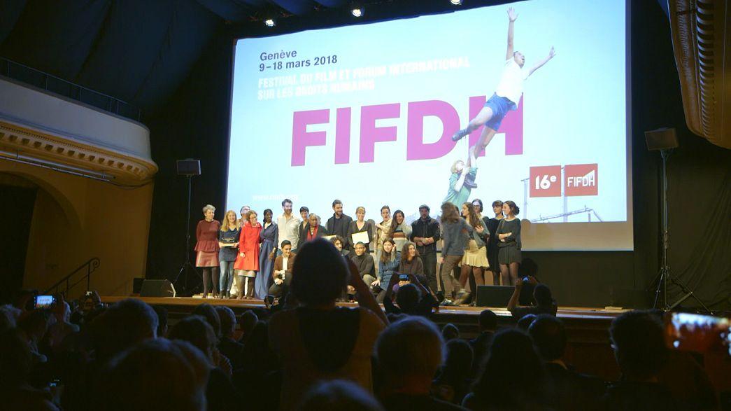 İnsan hakları film ödülleri dağıtıldı