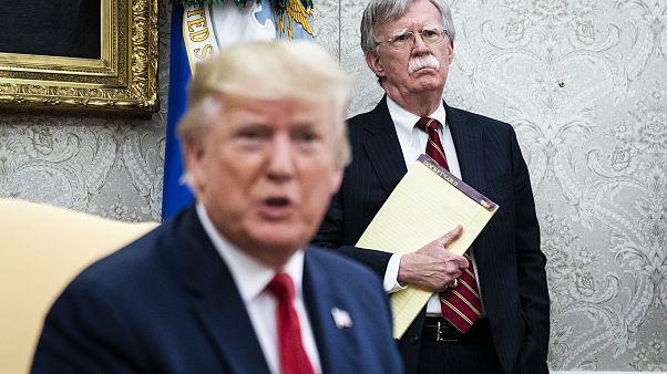 Image: Donald Trump John Bolton