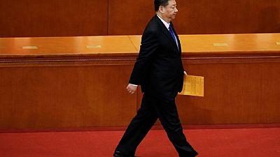 African presidents congratulate China's Xi Jinping, Russia's Putin
