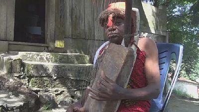 La Harpe, instrument sacré au Gabon