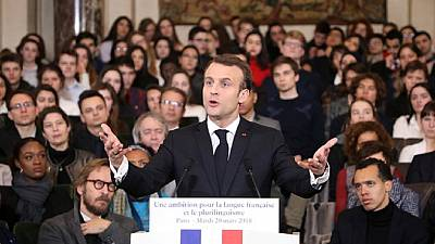 Francophonie Africa inspires Macron to launch French language mission