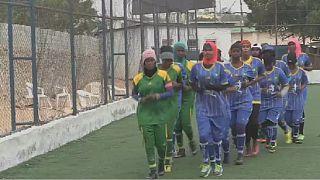 Somaliennes et footballeuses