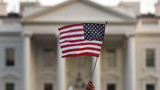 Image: American Flag, White House