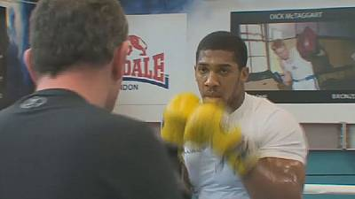 Anthony Joshua confident ahead of fight with Joseph Parker
