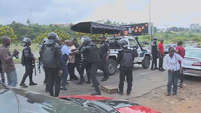 Security forces in Ivory Coast avert planned opposition protests