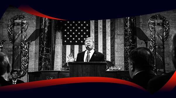 Image: President Donald Trump delivered the State of the Union address on F