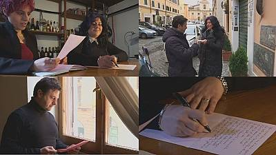 Italians turn to love letters to revive affection
