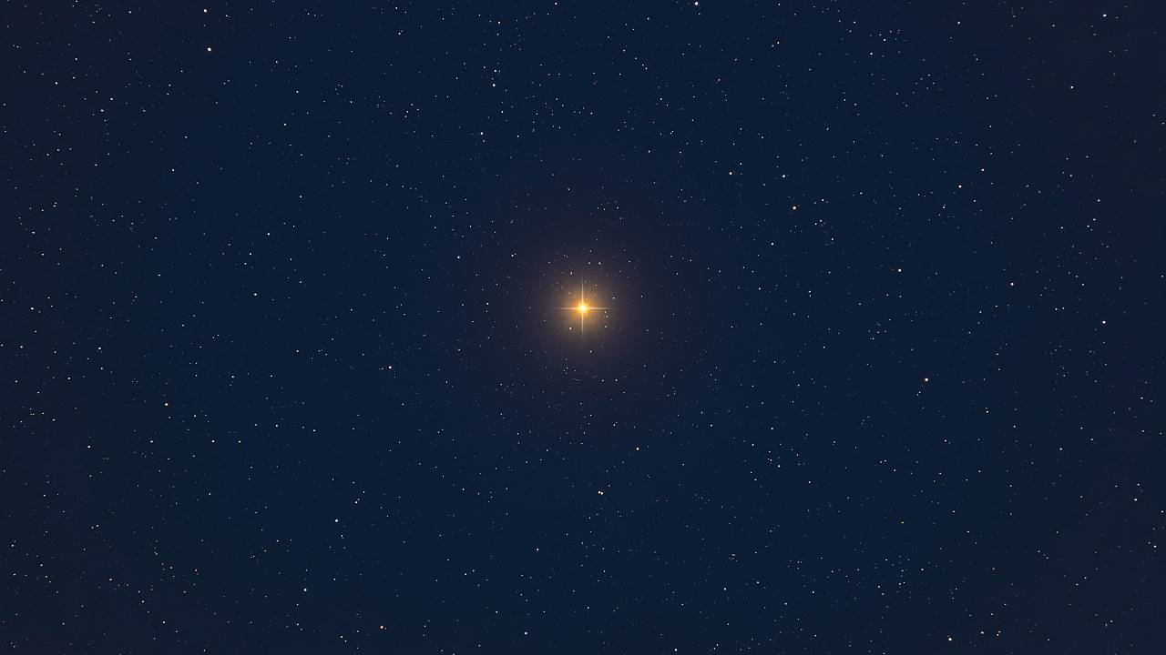 Image: A closeup of Betelgeuse in Orion.