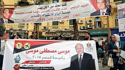 Moussa Mostafa Moussa, partisan et concurrent de Sissi à la fois