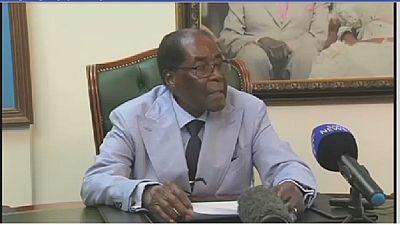 Zimbabwe : Mugabe amer contre contre l'Afrique du Sud