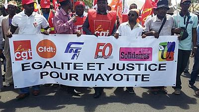 Comores : manifestation de soutien aux Comoriens de Mayotte