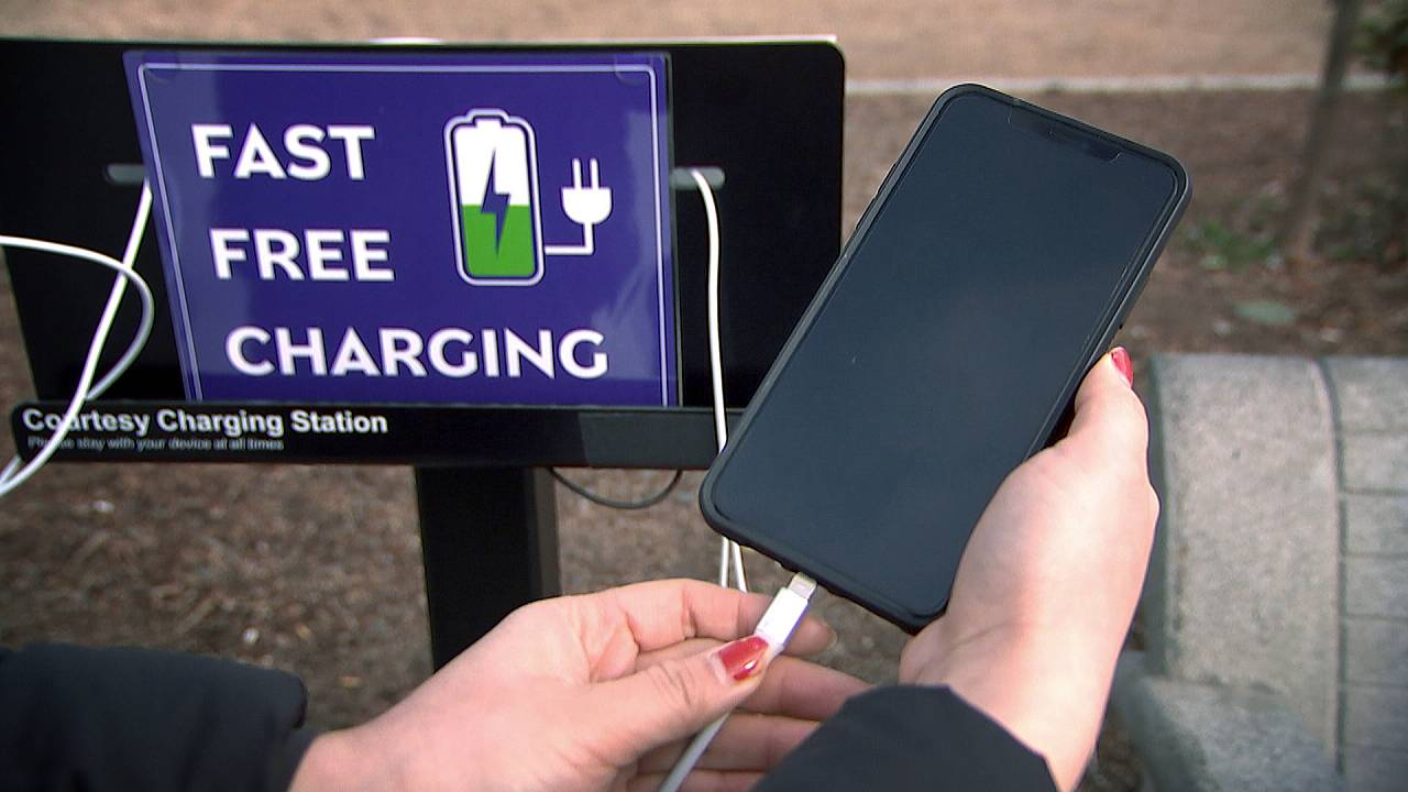 Juice jacking: Why you should avoid public phone charging stations