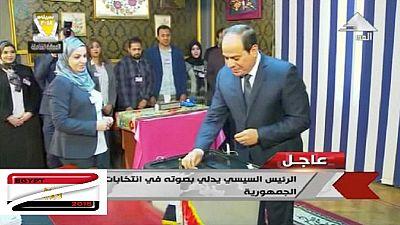 Égypte : la liesse des électeurs pro-Sissi gagne la capitale