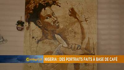 Nigerian artist expresses skill using coffee [The Morning Call]
