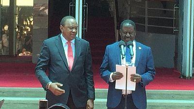 Kenya : Odinga réaffirme son engagement pour l'unité nationale