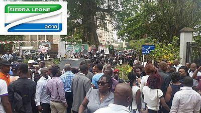 Élection présidentielle en Sierra Leone: le deuxième tour fixé au 31 mars