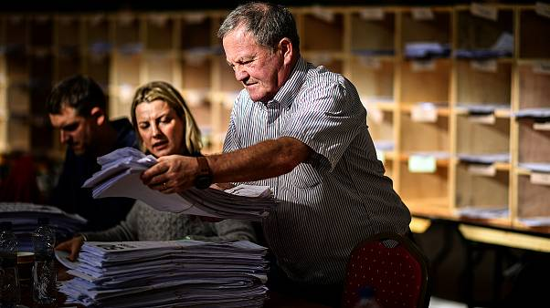 Image: Counting for the Irish general election begins at the Cork South-Cen