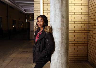 "Rachael Oloyede, above, believes that ""when you\'re privileged I think it blinds you so much."""