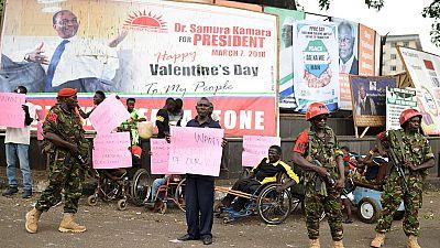 Sierra-Leone : réaction des candidats au report du scrutin au 31 mars