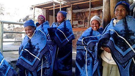 Les couvertures traditionnelles basotho inspirent les jeunes créateurs [no comment]