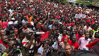 Thousands of Ghanaians protest controversial military deal with U.S.