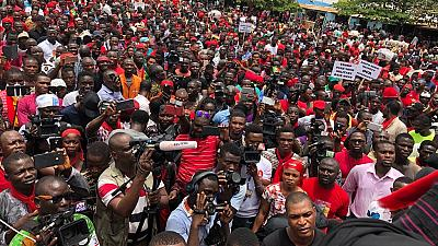 Thousands of Ghanaians protest defense accord with US