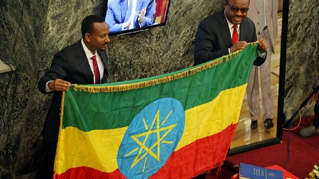 Ethiopia PM appeals for unity, pledges democracy and