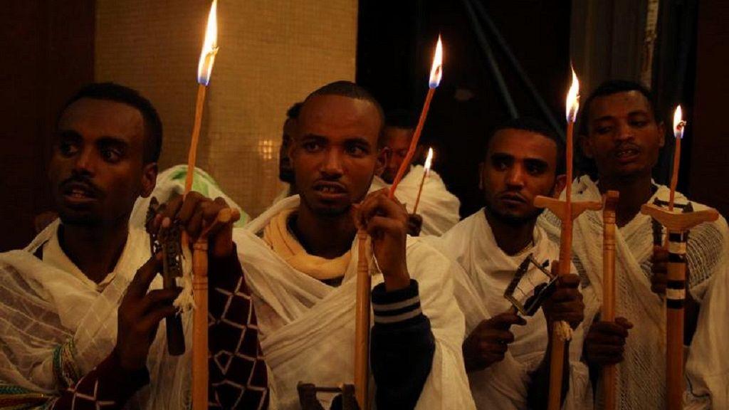 Ethiopian Orthodox faithful observe Easter rites in Addis Ababa 3